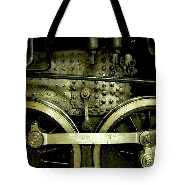 Steam Power I Tote Bag by Theresa Tahara