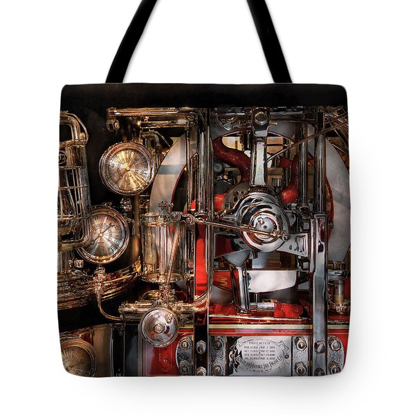 Steampunk - Check the gauges  Tote Bag by Mike Savad
