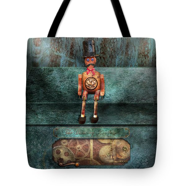 Steampunk - My favorite toy Tote Bag by Mike Savad