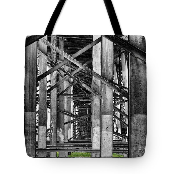Steel Support Tote Bag by Rudy Umans