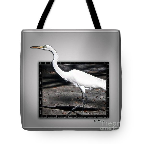 Stepping Out Into A New Dimension Tote Bag by Sue Melvin