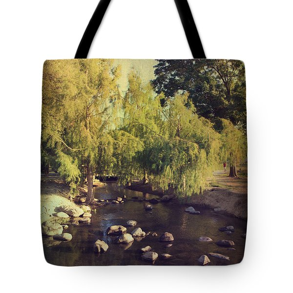 Stepping Stones To My Heart Tote Bag by Laurie Search