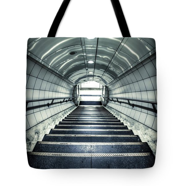 Steppings Tones Tote Bag by Evelina Kremsdorf