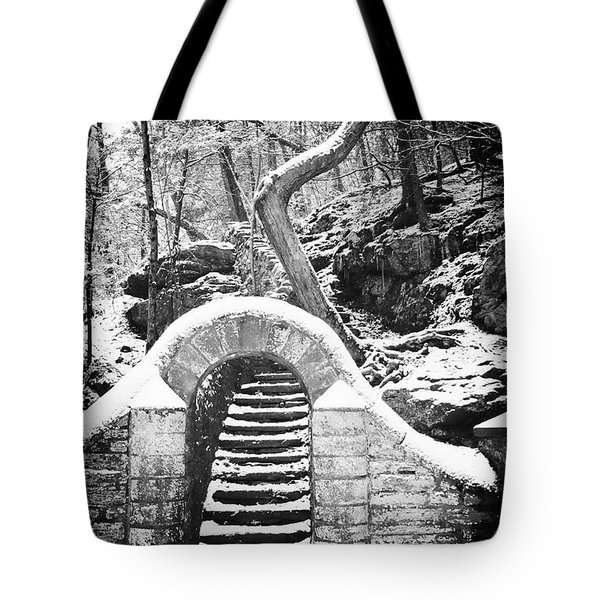 Steps Along the Wissahickon Tote Bag by Bill Cannon