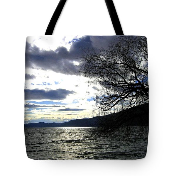 Sterling Silver Sunset Tote Bag by Will Borden