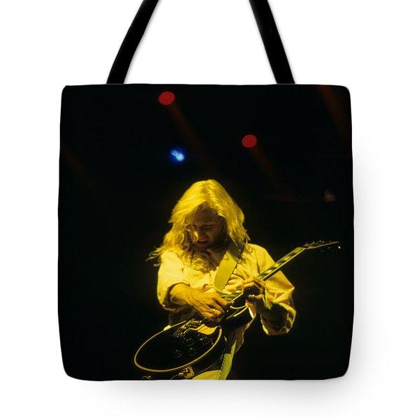 Steve Clark Tote Bag by Rich Fuscia