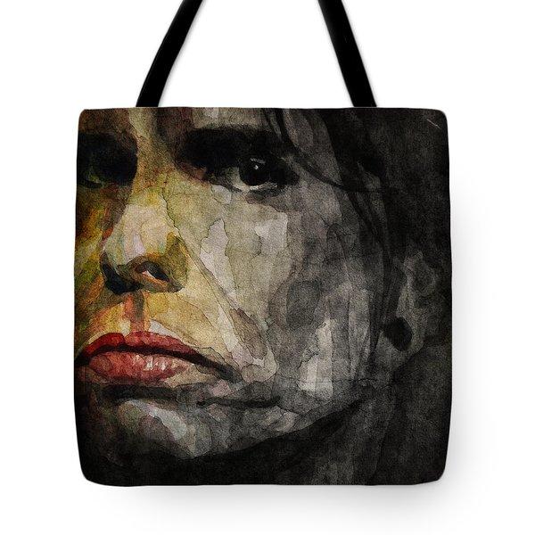 Steven Tyler  Tote Bag by Paul Lovering