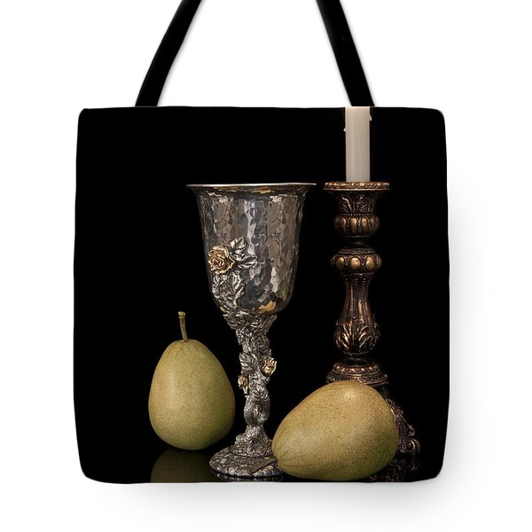 Still Life With Pears Tote Bag by Tom Mc Nemar