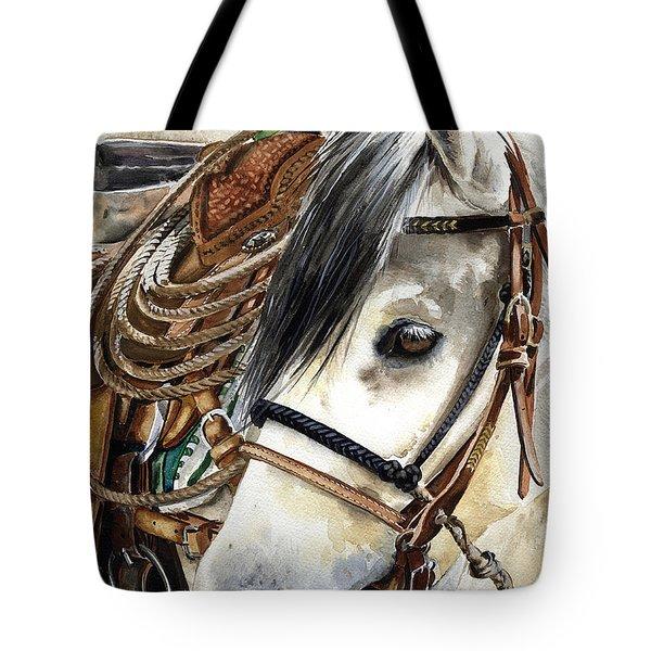 Stirrup Up Tote Bag by Nadi Spencer