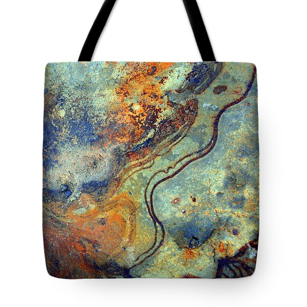 Stone Worlds Tote Bag by Tara Turner