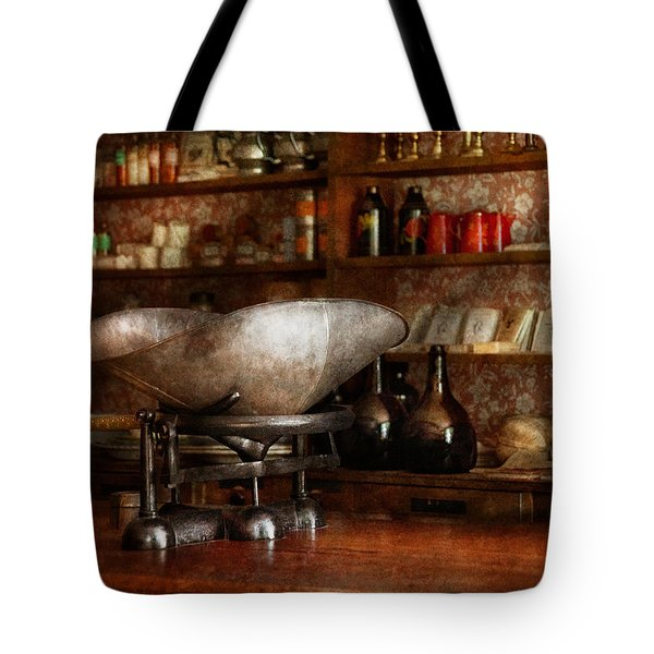 Store - A place for everything  Tote Bag by Mike Savad