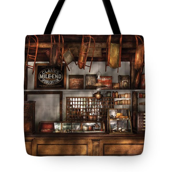 Store - Old Fashioned Super Store Tote Bag by Mike Savad