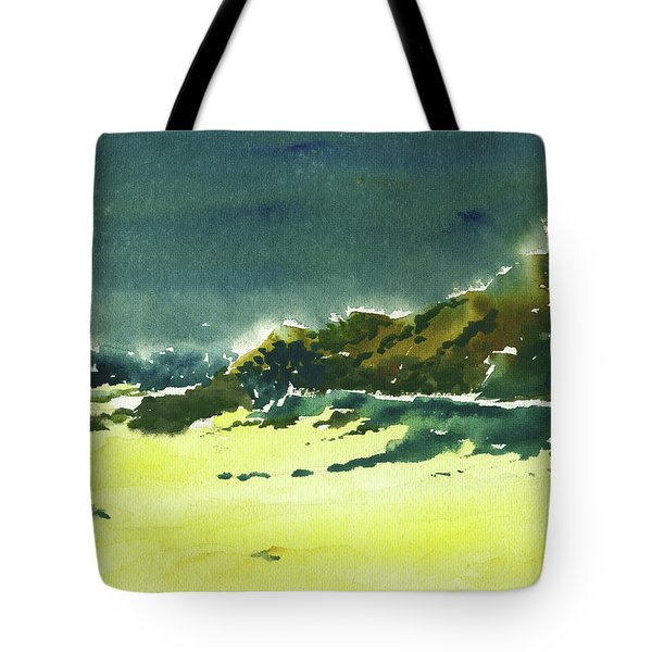 Storm Is Brewing Tote Bag by Anil Nene