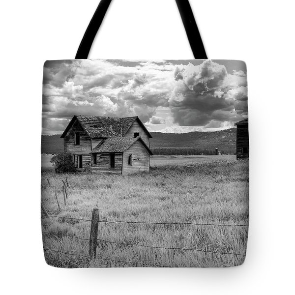 Storm Over Big Sky Montana Tote Bag by Sandra Bronstein