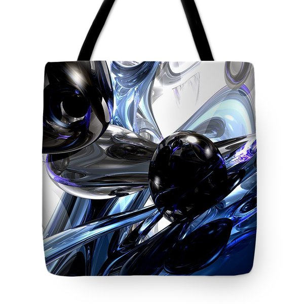 Storm Shadow Abstract Tote Bag by Alexander Butler