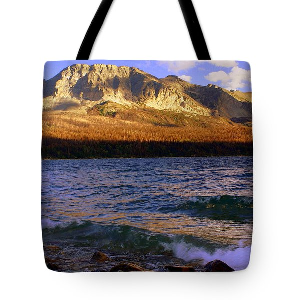 Stormy St Marys Tote Bag by Marty Koch