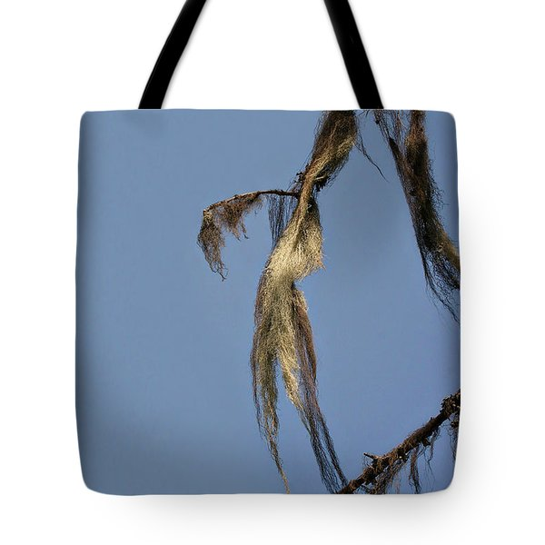 Strand Of Moss Swaying Gently With The Wind - Tiger Mountain Wa Tote Bag by Christine Till