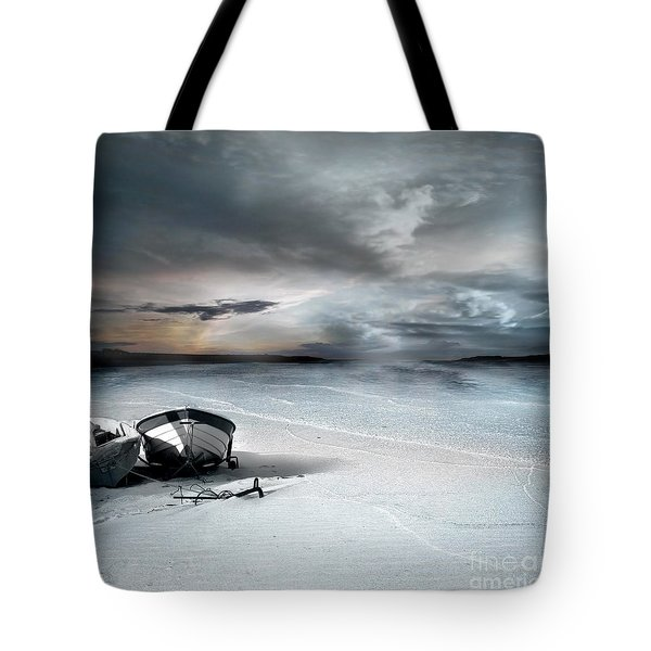 Stranded Tote Bag by Photodream Art