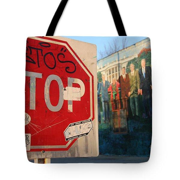 Street Art Washington D.c.  Tote Bag by Clay Cofer