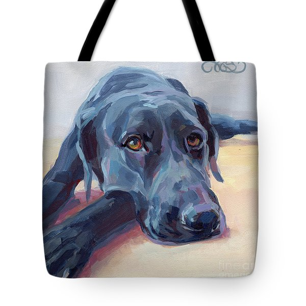 Stretched Tote Bag by Kimberly Santini