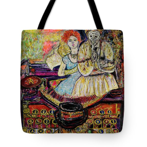 Strife  Tote Bag by Lindsay Strubbe