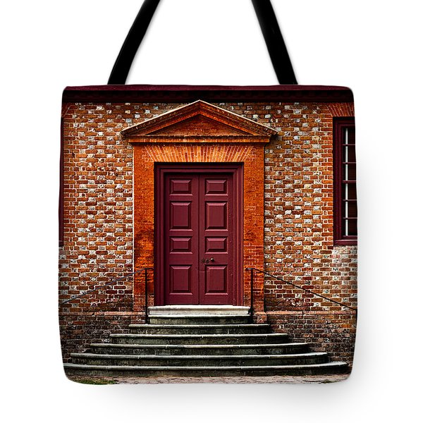 Structural Symetry Tote Bag by Christopher Holmes