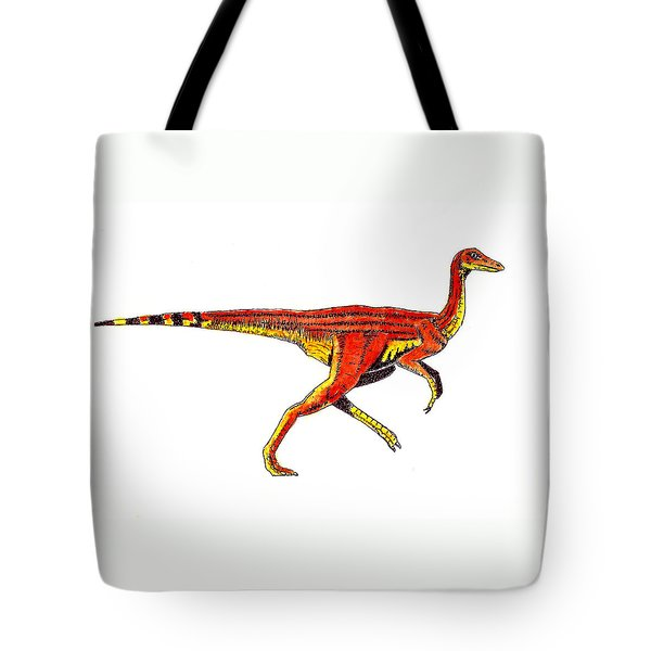 Struthiomimus Tote Bag by Michael Vigliotti