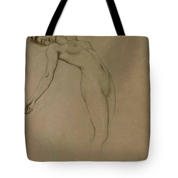 Study For Clyties Of The Mist Tote Bag by Herbert James Draper