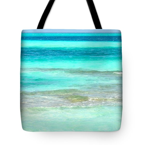 Study In Blue Tote Bag by Corinne Rhode