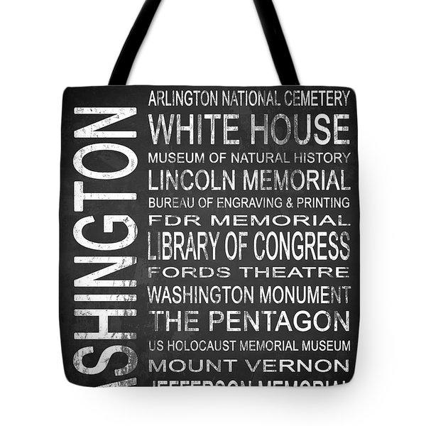 Subway Washington Dc 2 Tote Bag by Melissa Smith