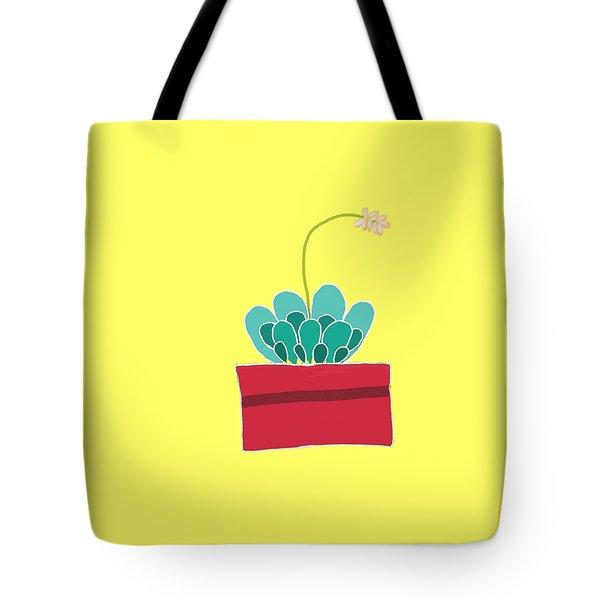 Succulent  Tote Bag by Priscilla Wolfe