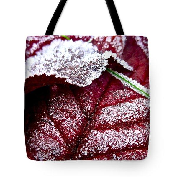 Sugar Coated Morning Tote Bag by Gwyn Newcombe