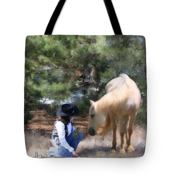 Sugar N Spice Tote Bag by Colleen Taylor