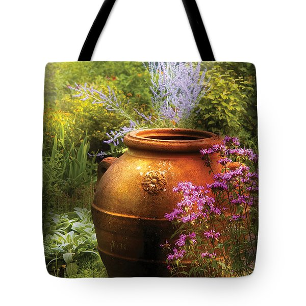 Summer - Landscape - The Urn Tote Bag by Mike Savad