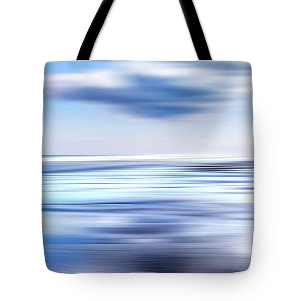 Summer Beach Blues Tote Bag by Bill Wakeley