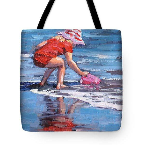 Summer Fun Tote Bag by Laura Lee Zanghetti