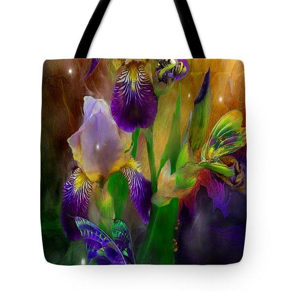 Summer Life Tote Bag by Carol Cavalaris
