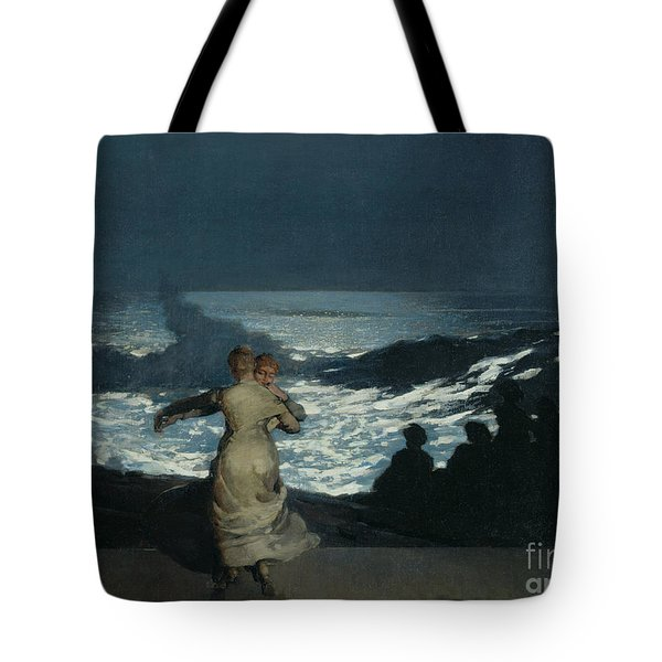 Summer Night Tote Bag by Winslow Homer
