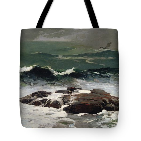 Summer Squall Tote Bag by Winslow Homer