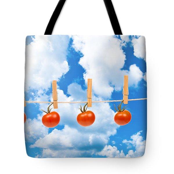 Sun Dried Tomatoes Tote Bag by Amanda Elwell
