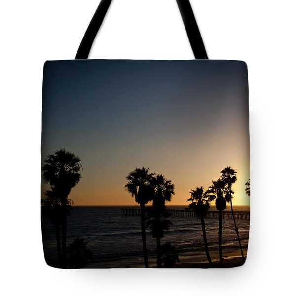 sun going down in california Tote Bag by Ralf Kaiser