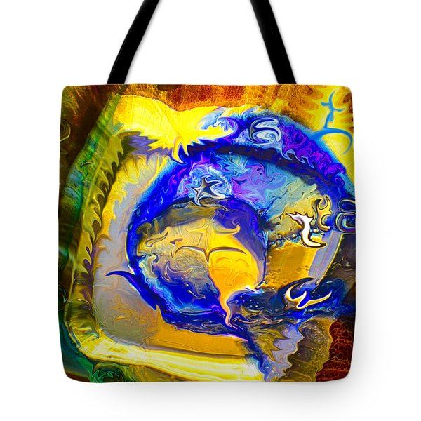 Sun of a Moon Tote Bag by Omaste Witkowski