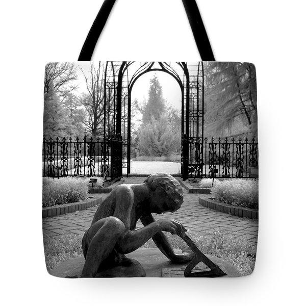 Sundial Tote Bag by Jane Linders