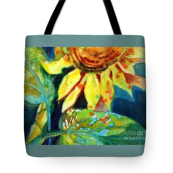 Sunflower Head 4 Tote Bag by Kathy Braud