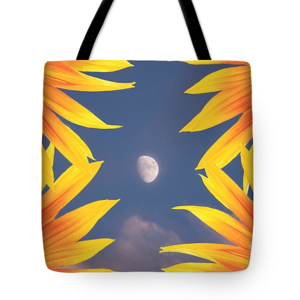 Sunflower Moon Tote Bag by James BO  Insogna