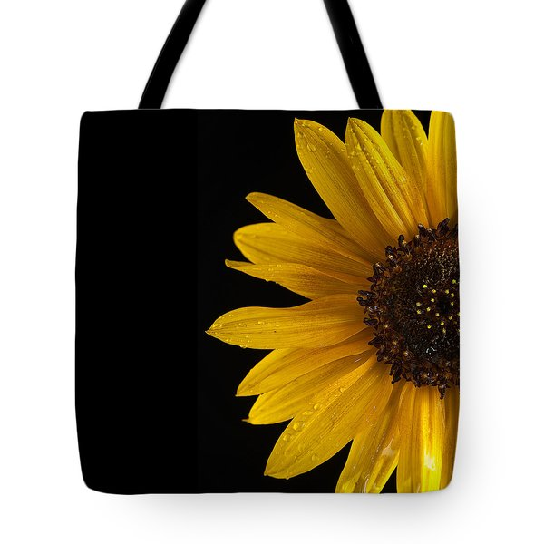 Sunflower Number 3 Tote Bag by Steve Gadomski