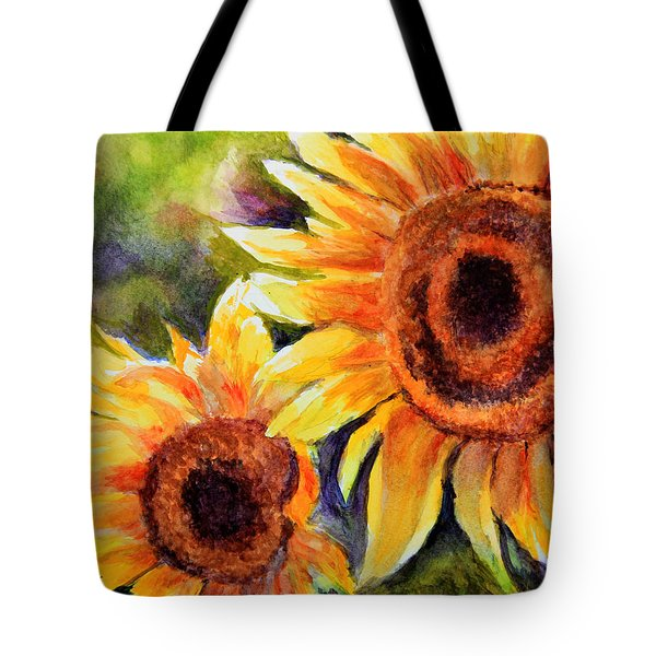 Sunflowers 2 Tote Bag by Susan Jenkins