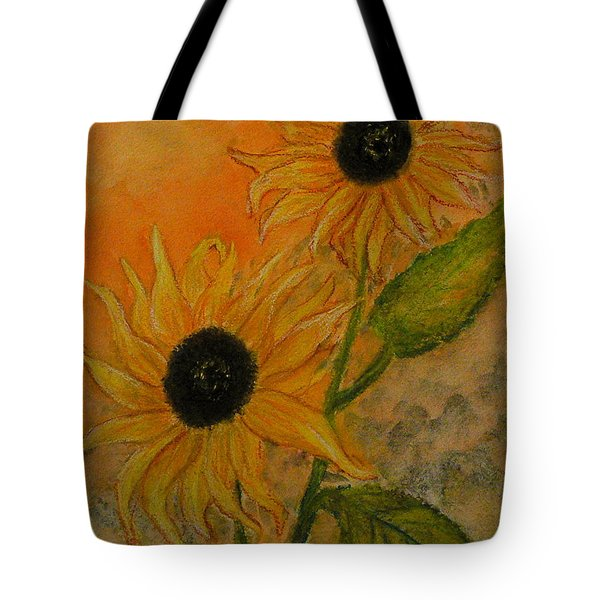 Sunflowers Tote Bag by Carla Stein