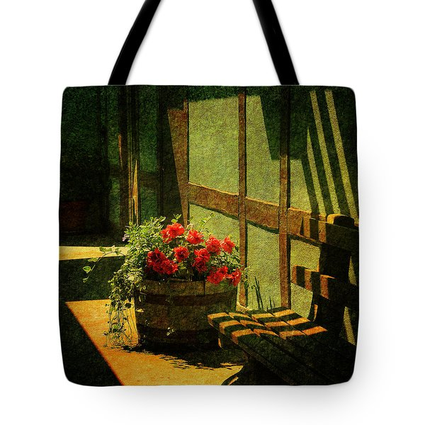 Sunny Corner Tote Bag by Susanne Van Hulst
