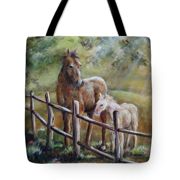Sunny Day Tote Bag by Deborah Smith